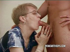 Mature Housewife Gets To Fuck Her Stepson