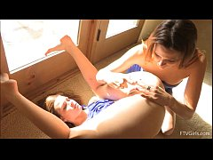 Raylene  and Romi are playing with gyno stuff.