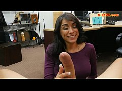 thick girl banged by pawn shop owner.