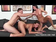 (India Summer, Shae Summers, Levi Cash) - Topless Tennis - Reality Kings