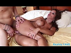Bigtits stepmom buttfucked and cum drenched