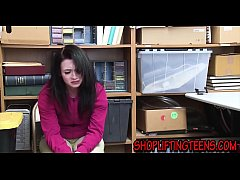 Teen thief moans and groans