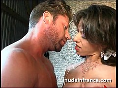 Amateur big boobed french brunette fucked hard