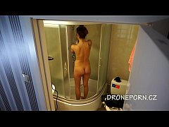 Czech teen in the shower
