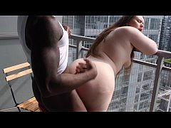 PAWG INSTAGRAM MODEL @MissBunnySteph FUCKED ON HOTEL BALCONY