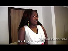 Big ass African slut at casting call - DiamondCox.com