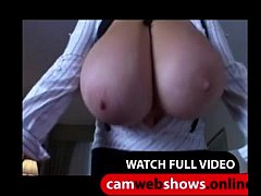 Blonde With Huge Natural Massive Boobs - CamWebShows.Online