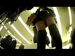 Upskirt of Asian Girl in Clothes Store  - MORE VIDEOS: amateur-porn-club.com
