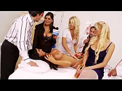 Kinky Orgy with Nurses Fucking Doctors and Patients...
