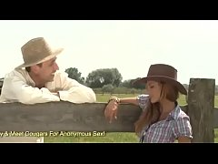 Country Girl Rye Lets A Cowboy Stick His Dick In Her Butt