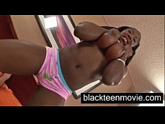 Big tits black teen fucked hard Hot Black Porn Video