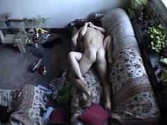 Amateur Couple Doing It Hard On The Couch