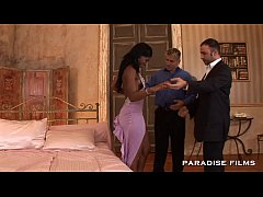 PARADISE FILMS Ebony Jasmine has got into double trouble