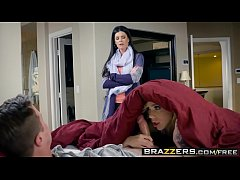 Brazzers - Moms in control -  Tight Fitting House Sitting scene starring India Summer, Kimberly Moss