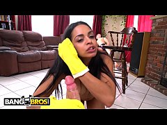 BANGBROS - My Dirty Maid Vienna Black Gets Naked, Sucks Dick and Fucks Me For Cash Money