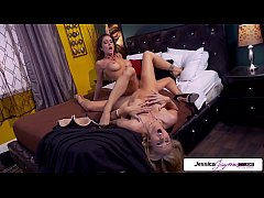 Jessica Jaymes & Julia ann in a naughty lesbian fun, big tits and bubble butt