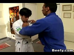 Beefy Gay Karate Teacher Fuck His Student