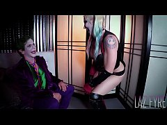 HD Harley Quinn & Joker The Porn Origin Part 2 Laz Fyre & Leya Falcon
