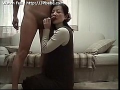 Japanese wife serving nice blowjob to husband - Watch Full: http:\/\/jpbabe.com