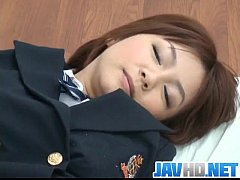 Meguru Kosaka amazes with her smooth blowjob