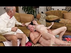 Anal threesome with happy Alex Harper point of view anal