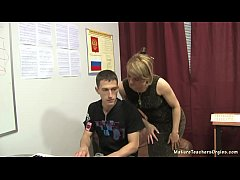 Russian mature teacher 10 - Elise (piano lesson)