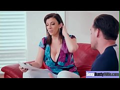 hot big tits housewife sara jay get banged hard style on tape vid-24