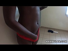 Young Black Teen Creampied