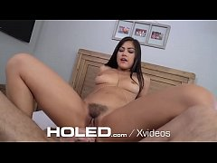 HOLED Anal Squirting Gusher Enjoys Big Dick Pounding