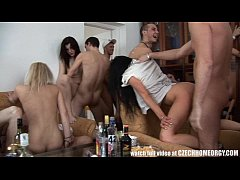 Hardcore Swingers Party on Homemade Video