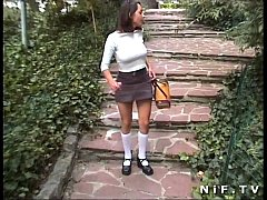 French school girl sodomized