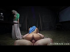 Arab lady and muslim blowjob Sneaking in the Base!