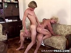 Granny Double Penetration