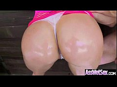 london keyes huge sexy butt girl get oiled and get hard anal nailed vid-18