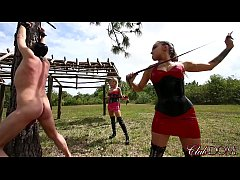Pegging Slave 142's Ass/ Whipping Their Pony Slave