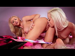 Alix Lynx &amp_ Elsa Jean lick each other