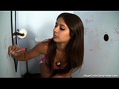 Jynx Maze Sucks Big Dick in Gloryhole!