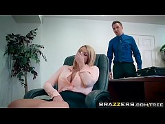 Brazzers - Big Tits at Work -  A Case of the Moan Days scene starring Brooklyn Chase and Keiran Lee