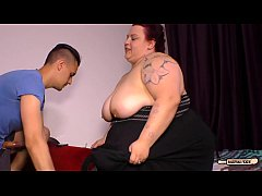 Clip sex HAUSFRAU FICKEN - Hardcore banging with horny BBW German housewife