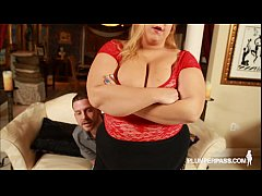 Sexy Fat Wife Minnie Mayhem Teases and Fucks Stud Tony