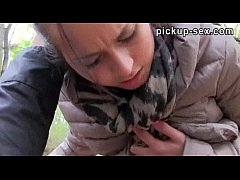 Eurobabe Emily pounded with stranger for some money
