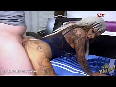 My Dirty Hobby - Hot tattooed slut gets deepthroated