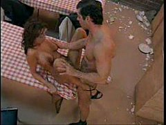 Brooke Burke fucked on table