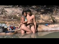 Brazilian Outdoor Sex on the River - Bahia
