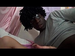 Sextape of small titted parisian teen anal fucked by a black cock