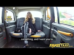 HD Fake Taxi Butt plug & cock stretch hot babe Valerie Fox arse on backseat