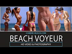 Big Ass Nudist Naked teens Spycam Voyeur Beach HD Video