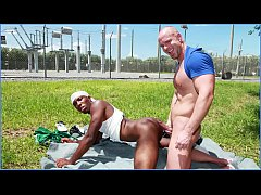 GAYWIRE - Black Thug JP Richards Sells His Ghetto Booty To Mitch Vaughn
