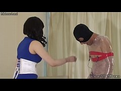 Japanese Femdom AiAoi BDSM Submission and Hanging Slave