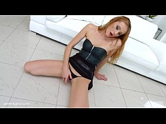 HD Linda Leclair gets her holes filled up with jizz of creampie by All Internal